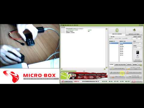 LG KP100 Read Unlock Codes with Micro-Box - www.micro-box.com