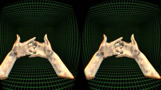 Pebbles Interfaces immersive 3D real-time hands!