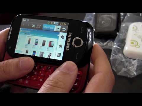 Samsung B5310 CorbyPRO Review HD ( in Romana ) - www.TelefonulTau.eu -