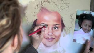 Pastel Portrait Technique, by Bogra
