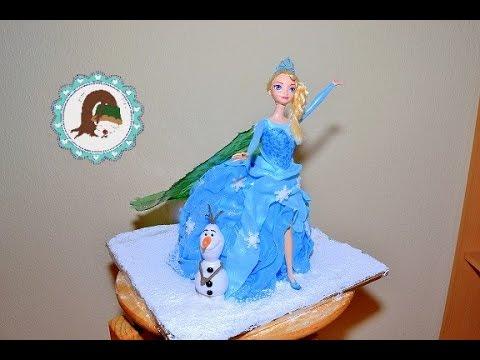 Frozen Elsa Torte Geburstagstorte Barbie Torte Motivtorten Von