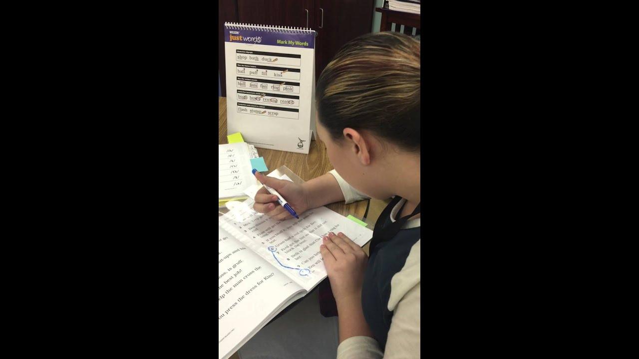 Wilson Level One Certification Practicum Fluency Practice Youtube