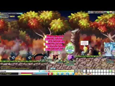 [Ellinia MapleStory] Leveling from 1 to 230