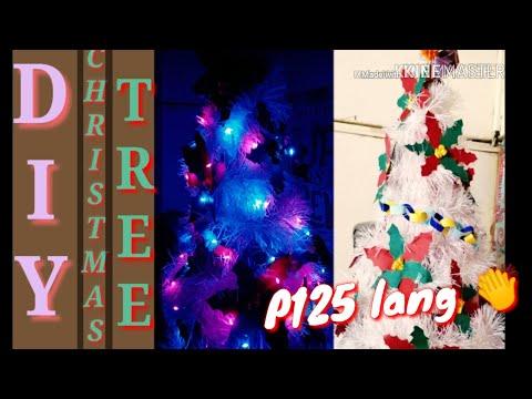 DIY Christmas Tree  - P125 lang 😂😮 I tissue roll,  pano ko ginawa?