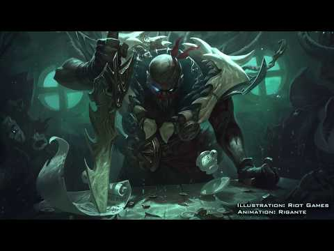 I Animated The Classic Pyke Splash Art