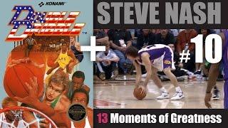 Steve Nash, moment #10 - fumble spin no-look assist