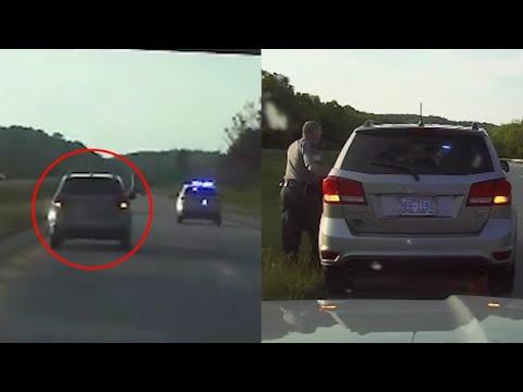 Si rompono i freni dell'auto in autostrada: polizia salva ragazza alla guida