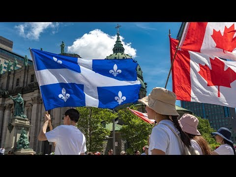 Celebrating Canada Day 2019 In Montreal