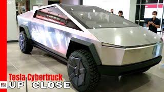 Tesla Cybertruck At Petersen Automotive Museum