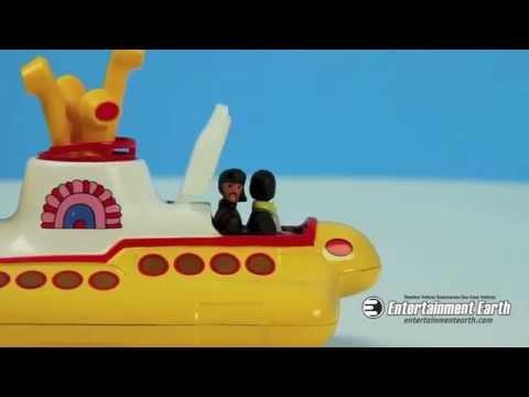 Beatles Yellow Submarine Die-Cast Vehicle