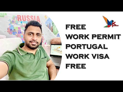 Free Work Permit Portugal || Full Process || Search Jobs in Portugal online Links available.