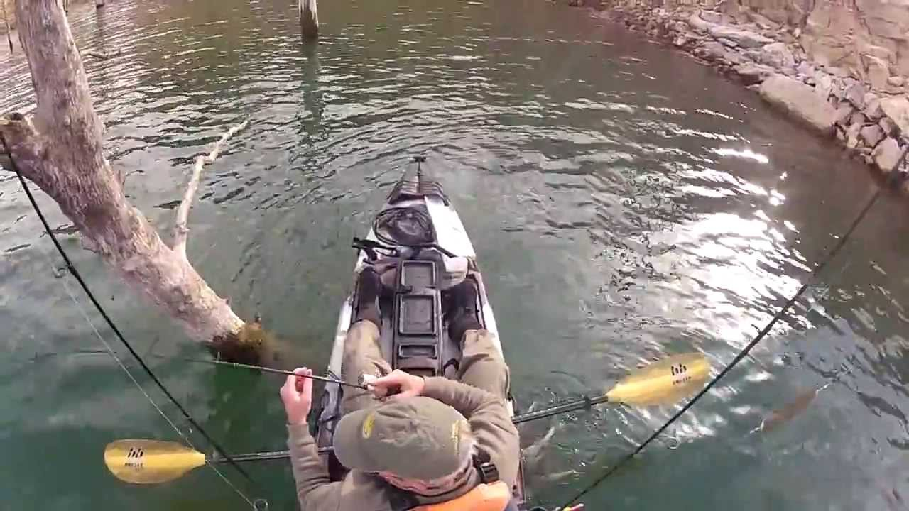 Lake shasta 2 2 14 spotted bass jackson cuda 12 kayak for Shasta lake fishing report