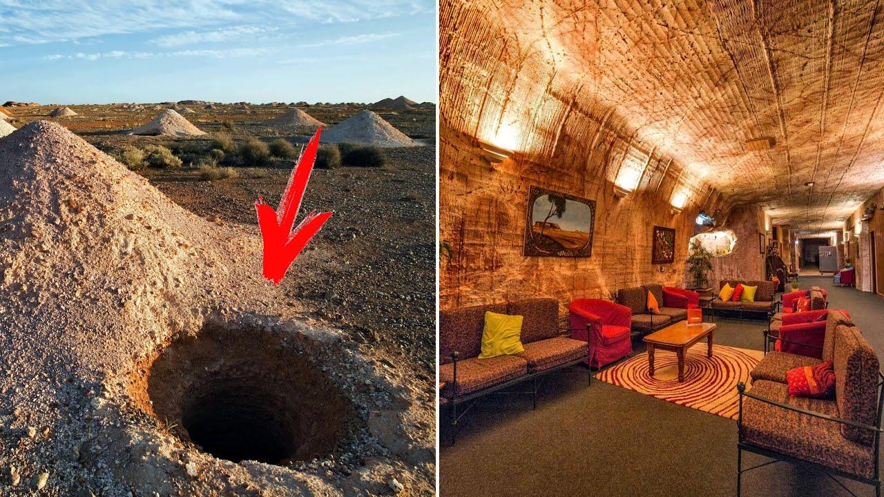 Уникално! Тези хора са създали цял подземен град и са отишли да живеят в него!