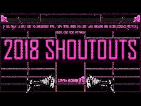 SHOUTOUT LIVE STREAM | GET YOUR CHANNEL SEEN | LIVE SHOUTING OUT SUBSCRIBERS