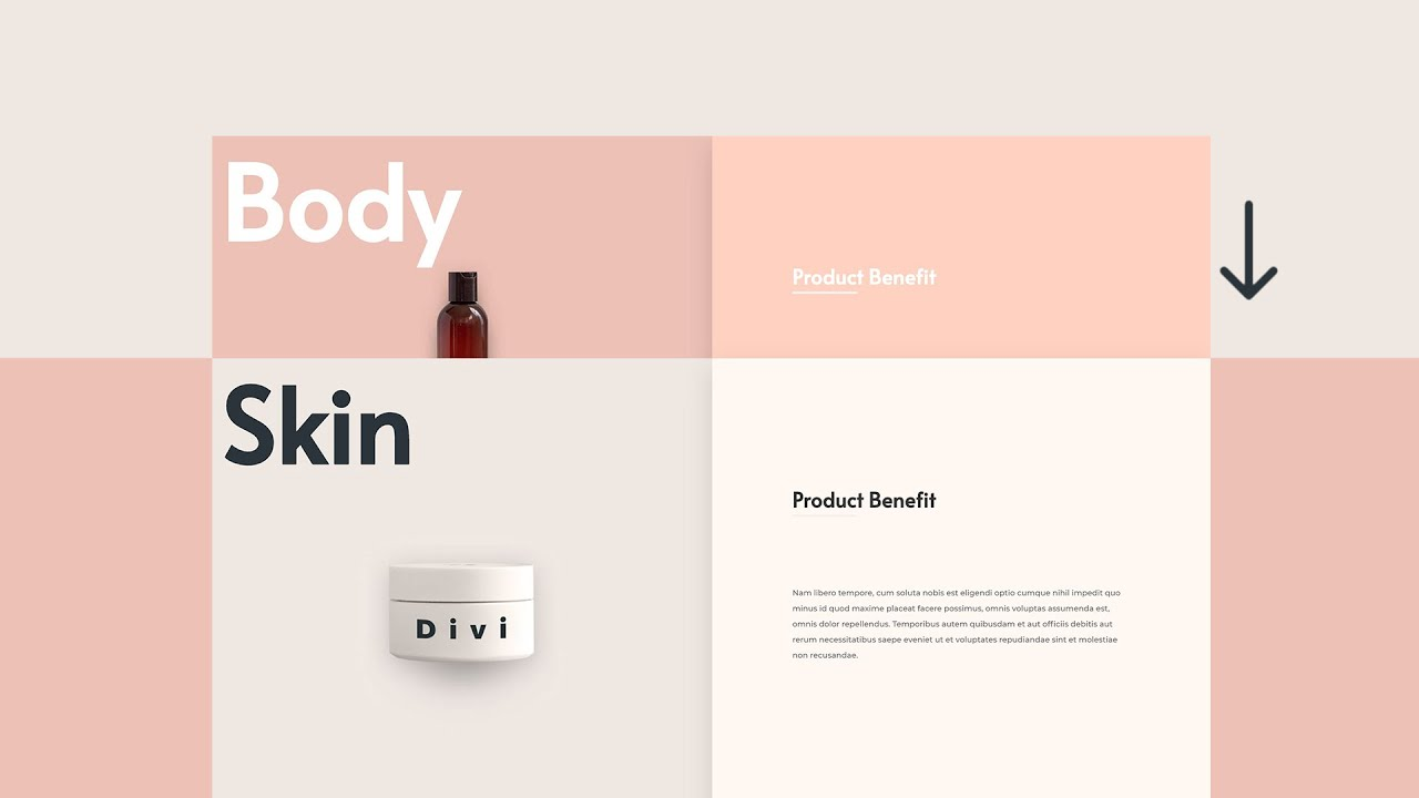 How to Stack Rows on Scroll with Divi's Sticky Options