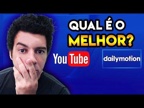 O YOUTUBE É MELHOR QUE O DAILYMOTION