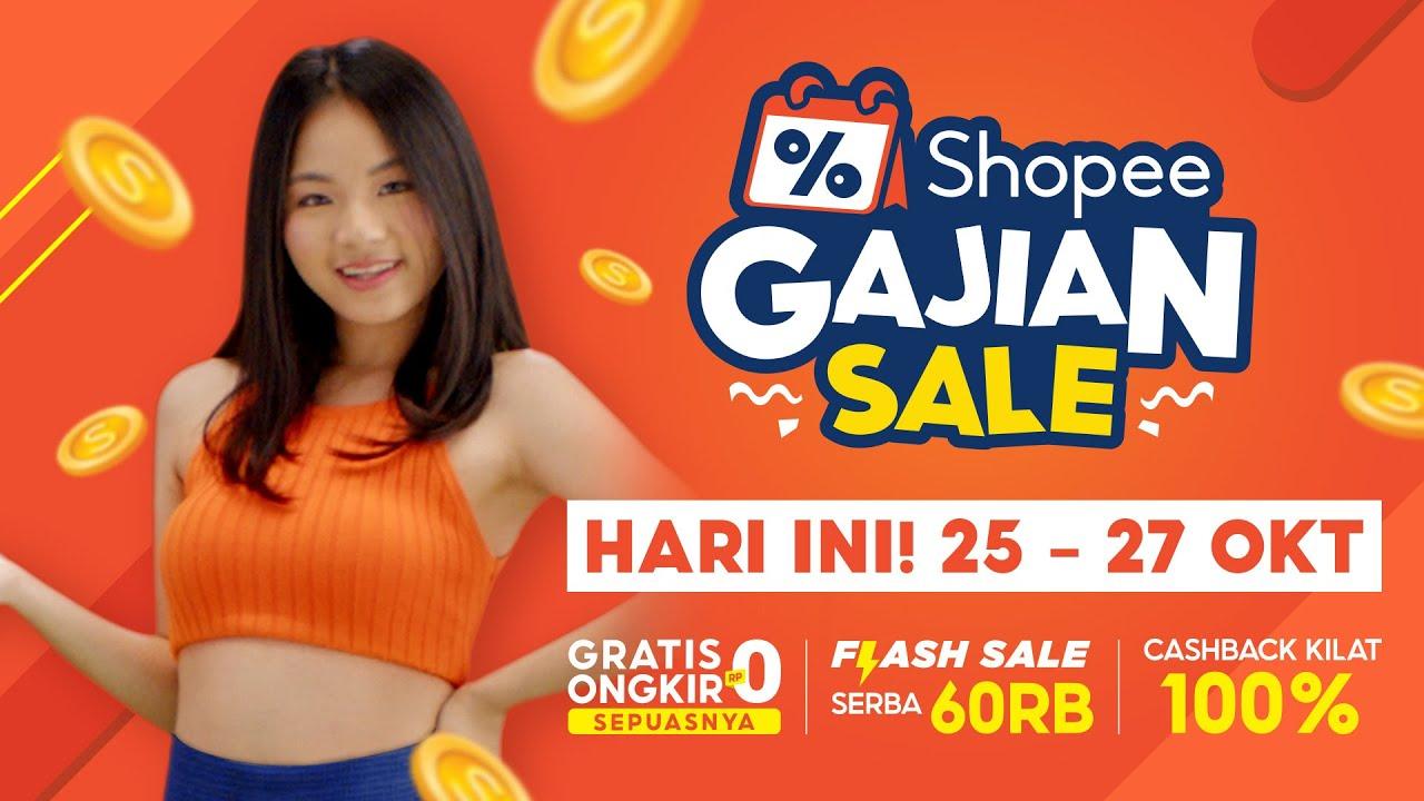 HARI INI! Shopee Gajian Sale | Nikmati Cashback Kilat 100%!