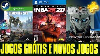 07 JOGOS GRÁTIS!!! PS4 / XBOX ONE / PC
