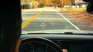 Mercedes: Mercedes-Benz Technology — Head-Up Display
