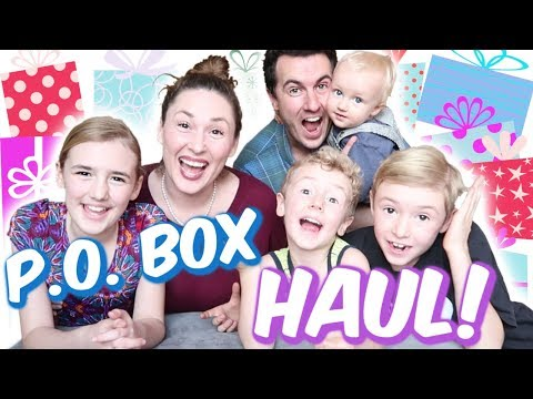 P.O. Box Haul! Opening Christmas Presents 🎁