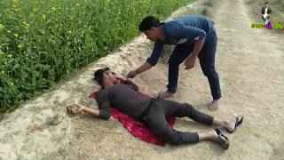 Must watch Desi funny videos of desi Mr bean on fun4you village boys comedy