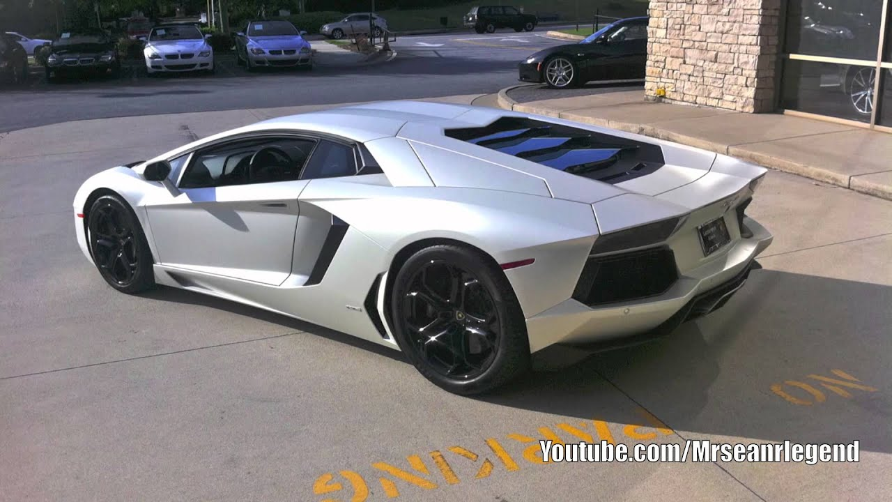 matte white lamborghini aventador lp 700 youtube. Black Bedroom Furniture Sets. Home Design Ideas