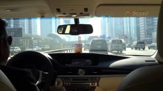 Dubai taxi ride