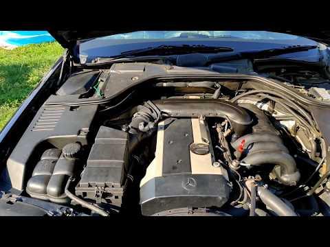 Mercedes W140_S320_M104 Правельная чистка дроссельной заслонки