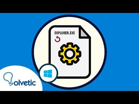 Cómo REINICIAR proceso EXPLORER.EXE en Windows 10, 8, 7