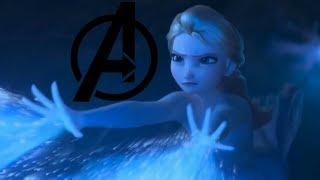 [Frozen II × Avengers Theme] When Elsa joins the Avengers in Frozen II... 當Elsa加入復仇者 - Trailer Remix