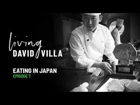 Living David Villa. Episode 7. Eating In Japan