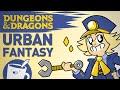Artists Draw Urban Fantasy D&D Characters (ft. Brennan Lee Mulligan)