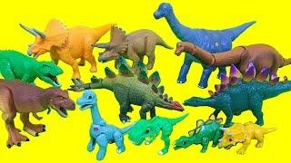 Dino Action Figure Toys Brachiosaurus Triceratops Stegosaurus Tyrannosaurus