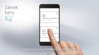 Vvymáčkněte ze smartbankingu maximum - zámek karty