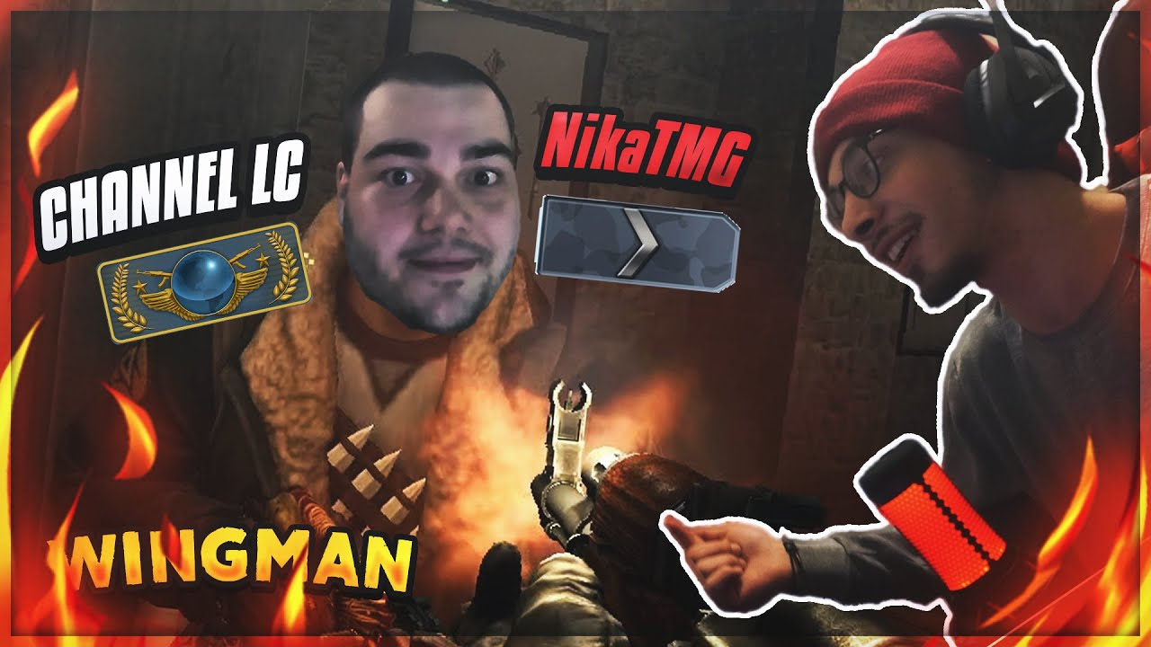 SILVER WITH GLOBAL ELITE | CSGO WINGMAN W/ @Channel LC