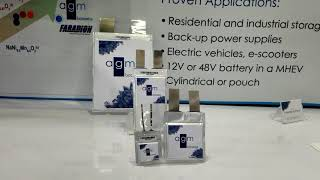 Sodium Ion Batteries Revealed at The Battery Show 2018