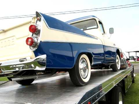 1957 Dodge Hemi Sweptside pickup at Carlisle - YouTube