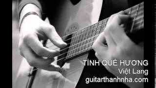 TÌNH QUÊ HƯƠNG - Guitar Solo