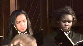 The Madeleine Choir School sings