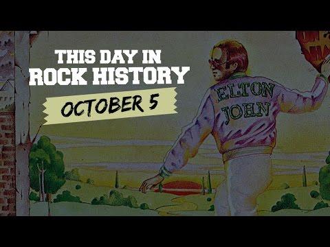 Elton John's Triumph, Bon Scott's First AC/DC Show - October 5 in Rock History