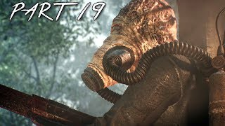THE EVIL WITHIN 2 Walkthrough Gameplay Part 19 - Flamethrower Monster (PS4 Pro)
