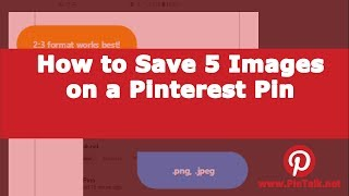 Pinterest How to Create a Carousel Pin