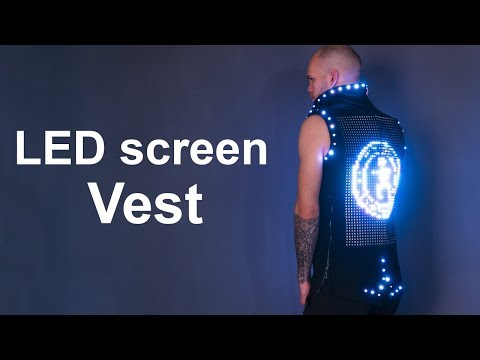 LED Screen Suit Costume ETEREshop _H07