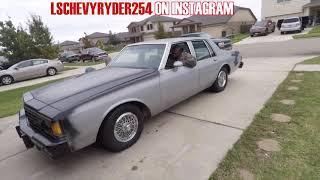 Pryor 1985  Box Chevy Update...We Got Progress