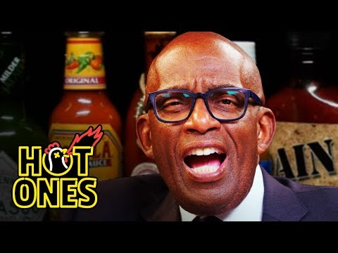 Al Roker Gets Hit by a Heat Wave of Spicy Wings | Hot Ones