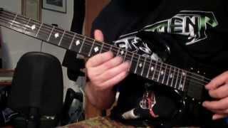 Testament - Hypnosis (guitar cover)
