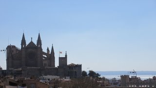Palma de Mallorca in March, Balearic Islands, Spain. TRAVEL VIDEO