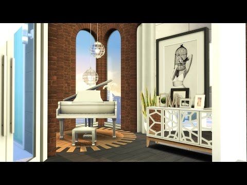 The Sims 4: Speed Build | Luxury Loft Apartment