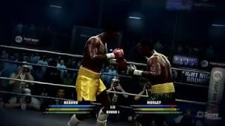 Fight Night Round 4 Xbox 360 Gameplay - Thomas Hearns vs
