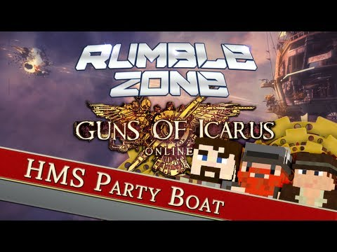 Guns of Icarus - HMS Party Boat - Yogscast Rumble Zone